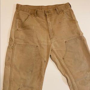 Vintage Carhartt double knee pants